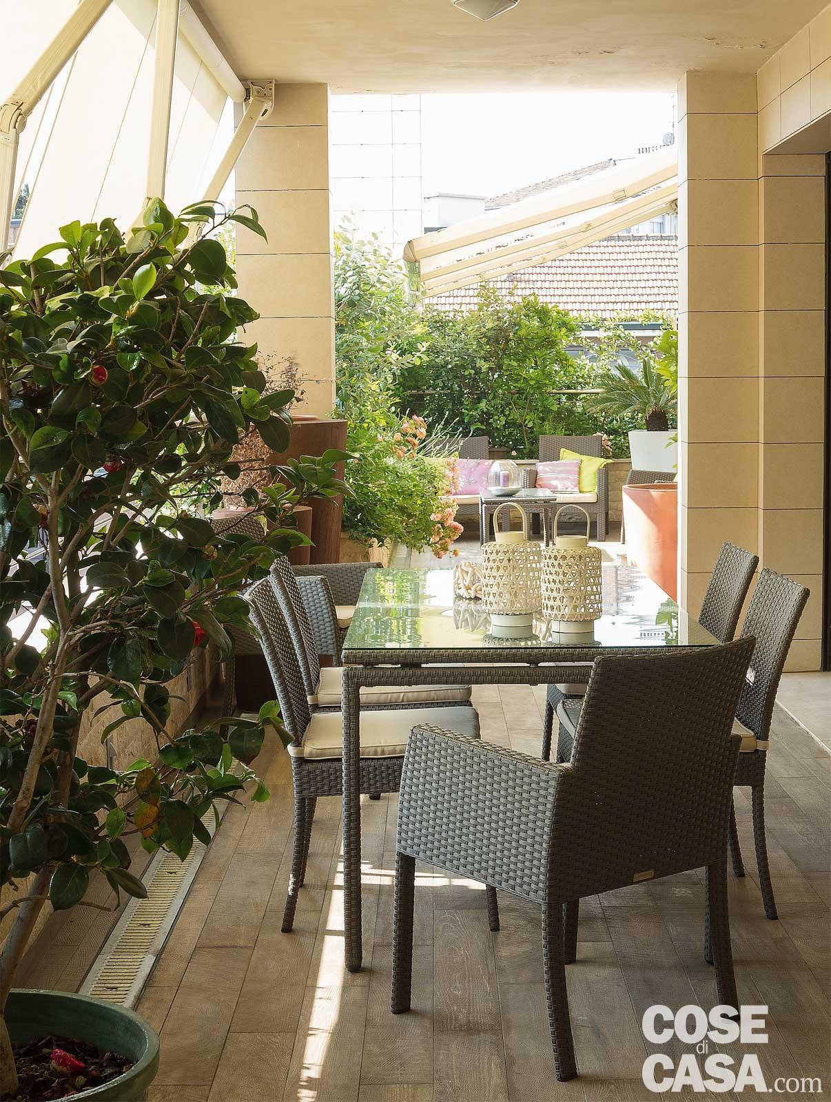 Arredo Balconi E Terrazze la terrazza diventa living: arredare anche con le piante