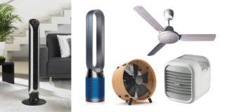 Ventilatore e raffrescatore: l'aria fresca con nuove forme di design