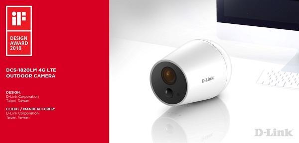 La videocamera per esterni di D-Link vince l'iF Design Award 2018