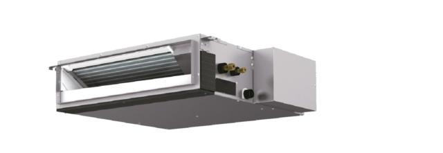 2mitsubishi SEZ-KD(M) climatizzatori canalizzati