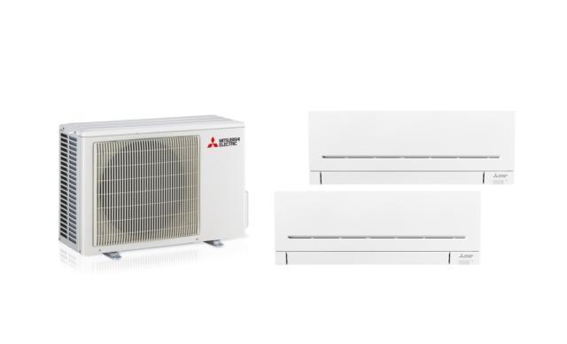 3 mitsubishi mxz+2msz-ap climatizzatori R32