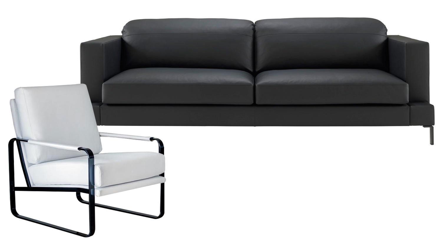 Divano e poltrona da abbinare per un soggiorno pi comodo for Divano 69 euro