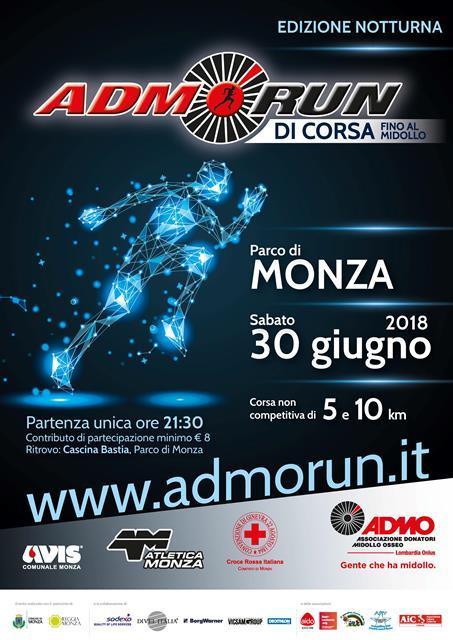 ADMORUN 2018 - locandina