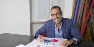 Andrea Castrignano mostra benefica