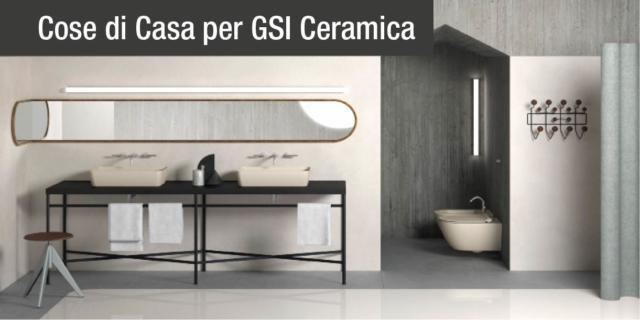 Bagno: colore e finitura opaca per lavabi e sanitari Color Elements di GSI Ceramica