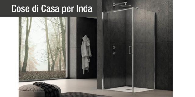 Nuove pareti doccia firmate Inda. Open project, open mind