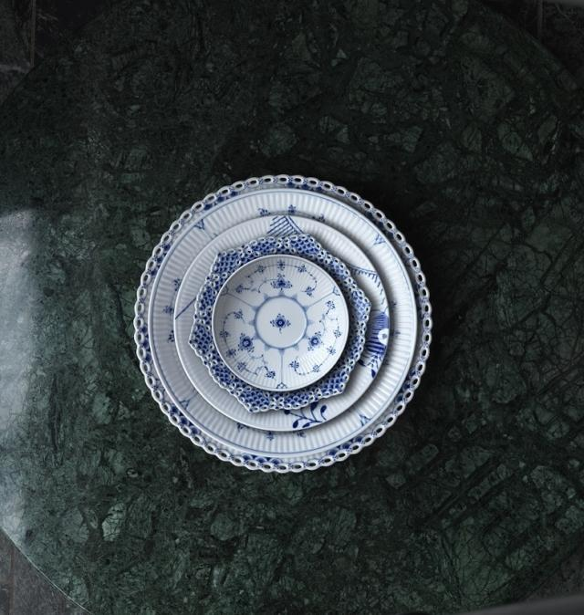 Palermo, ROYAL COPENAGHEN, Blue fluted (1775), LLGT