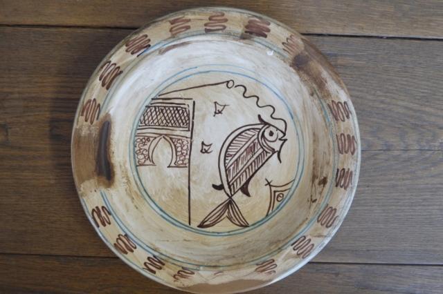 """Piatto """"Pesce 2"""" della serie Bacini Ceramici"""