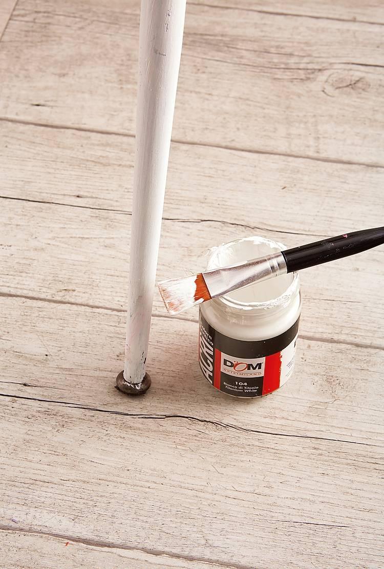 Dipingere Sedie Di Legno l'arte del recupero: dipingere la vecchia sedia per un