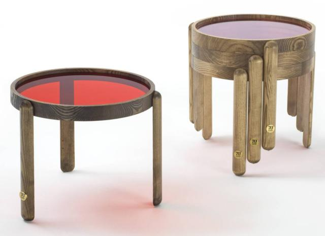 Trittico tavolini