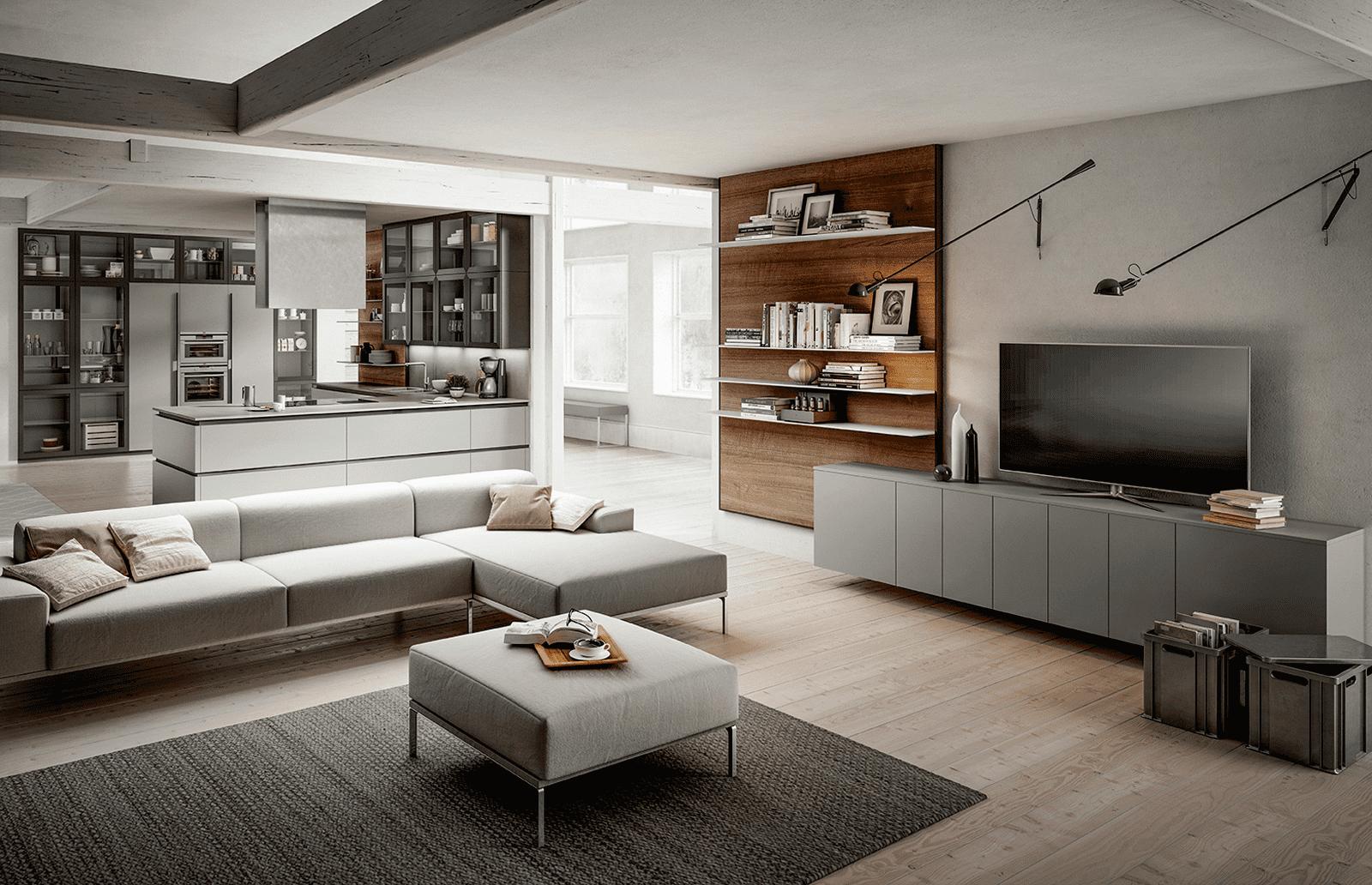 Arredamenti Interni Case Moderne progetti: 3 modi di vivere la cucina. open space
