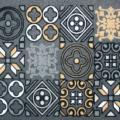 Zerbino Maiolica di Euronova è lo zerbino interamente in gomma riciclata e poliammide con un decoro che si rifà alle piastrelle dipinte del passato. Misura L 70 x P 40 cm. Prezzo 10,99 euro. www.euronova-italia.it