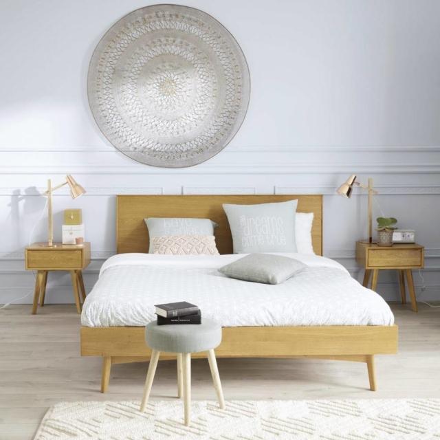 maisons letto-vintage-in-quercia-140x190 letti matrimoniali piccoli_