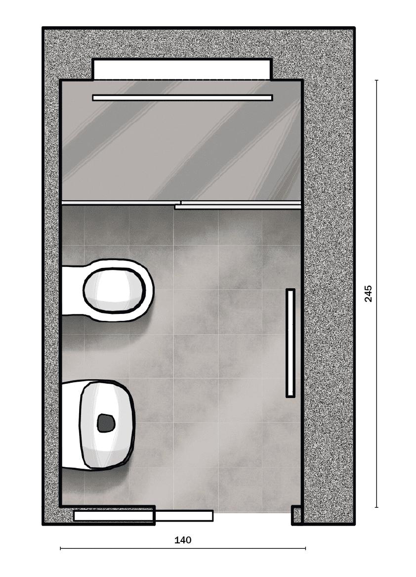 Costo Manodopera Rifacimento Bagno lavori in casa: ristrutturare il bagno. mini, con maxi
