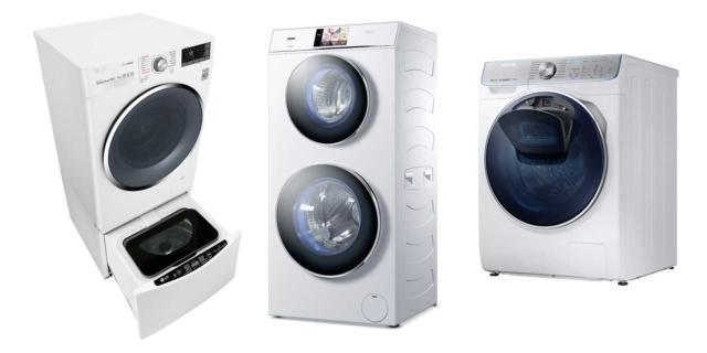Lavatrici per risparmiare tempo: i modelli con doppio cestello e l'oblò nell'oblò