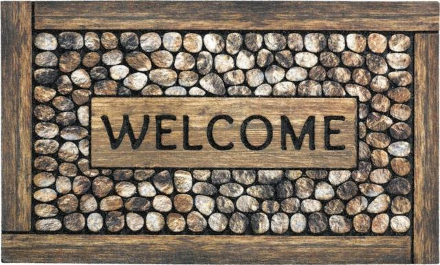 sitap ECO MASTER WELCOME FRAMED PEBBLES zerbino