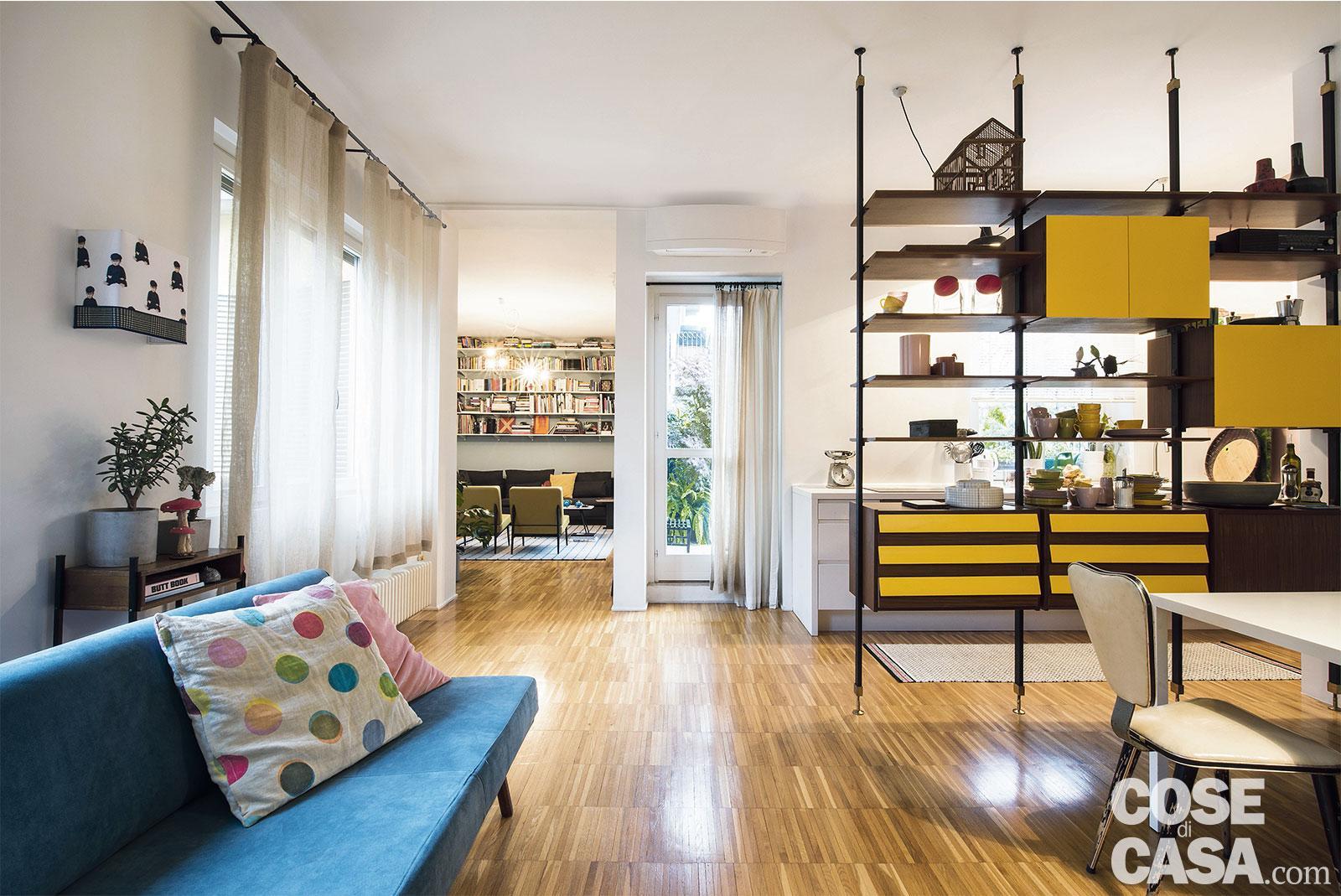 Camere Da Letto Arredate Vintage : Mq parquet industriale e stile vintage per gli arredi cose