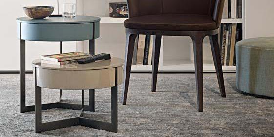 Tavolini: più pezzi accostati, per arredare e moltiplicare lo spazio d'appoggio