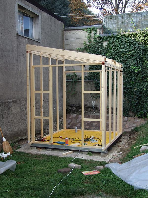 Casette In Legno Da Giardino Fai Da Te.Casetta Studio In Giardino Costruita Con Il Fai Da Te Cose Di Casa