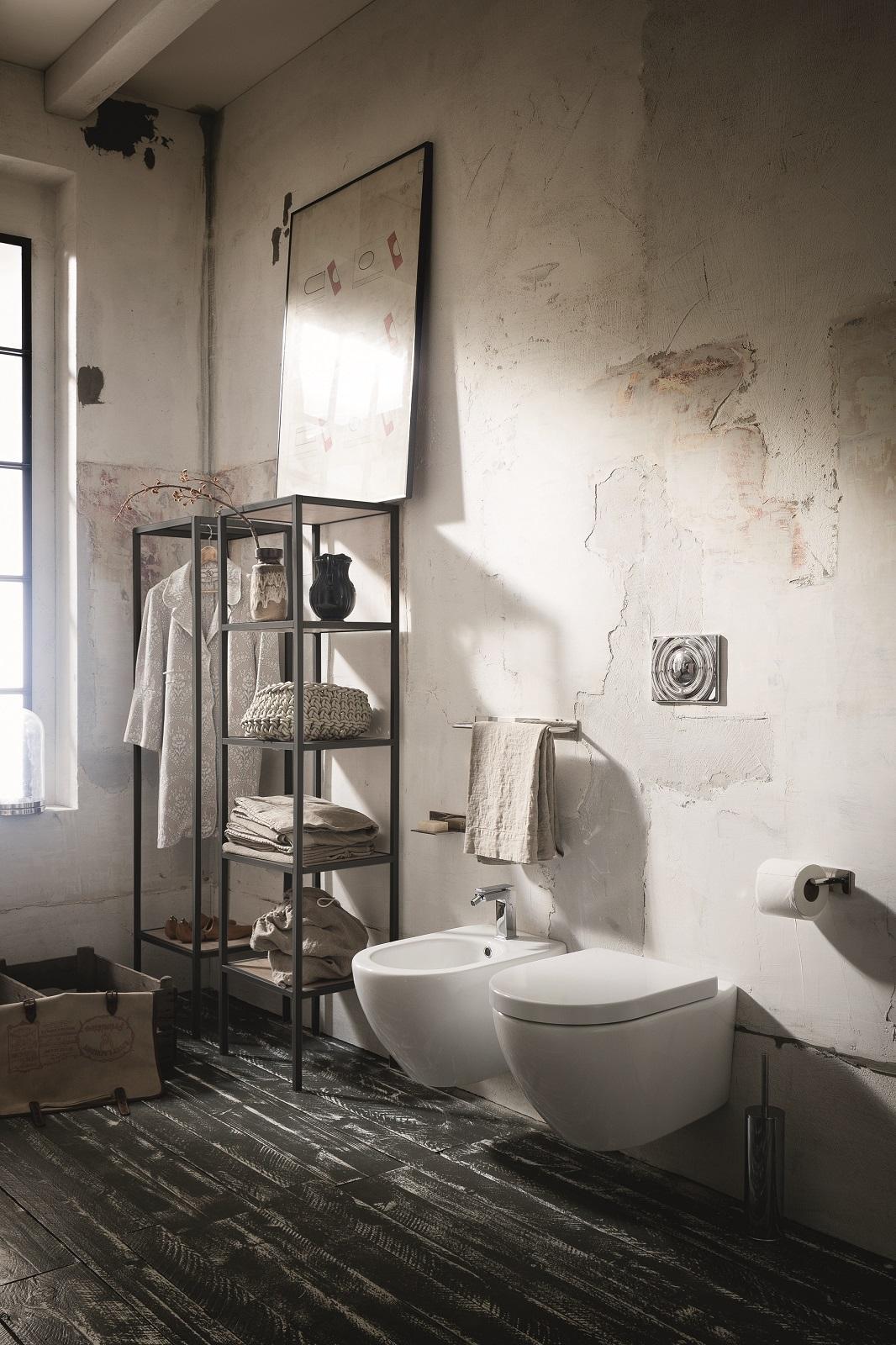 Muretto Per Sanitari Sospesi sanitari sospesi, tra mode e praticità per bagni piccoli