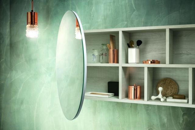 8 kios round specchio