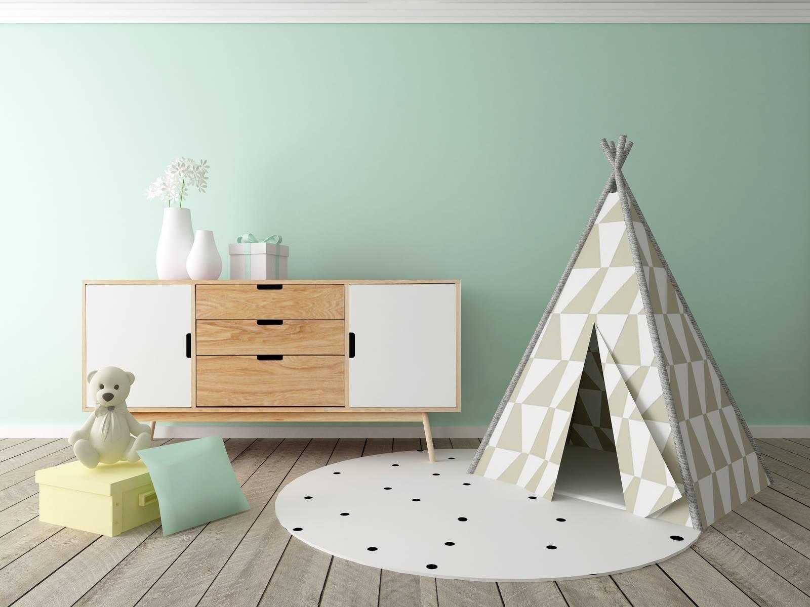 Idee Pittura Cameretta Bambina dipingere le pareti della cameretta con colori atossici