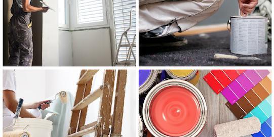 Tinteggiare: rinnovare la casa con la luce del bianco o con il colore?