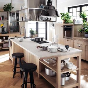 Per la cucina un piano di lavoro resistente e facile da pulire cose di casa - Piano da lavoro per cucina ...