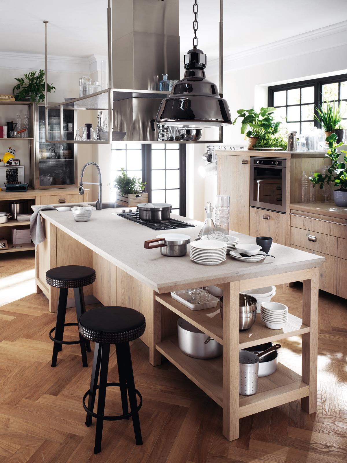 Per la cucina un piano di lavoro resistente e facile da pulire ...