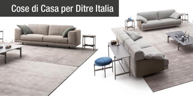 Ditre Italia presenta i divani Althon e Nevyll. Ricercati nei dettagli, trasversali nel gusto