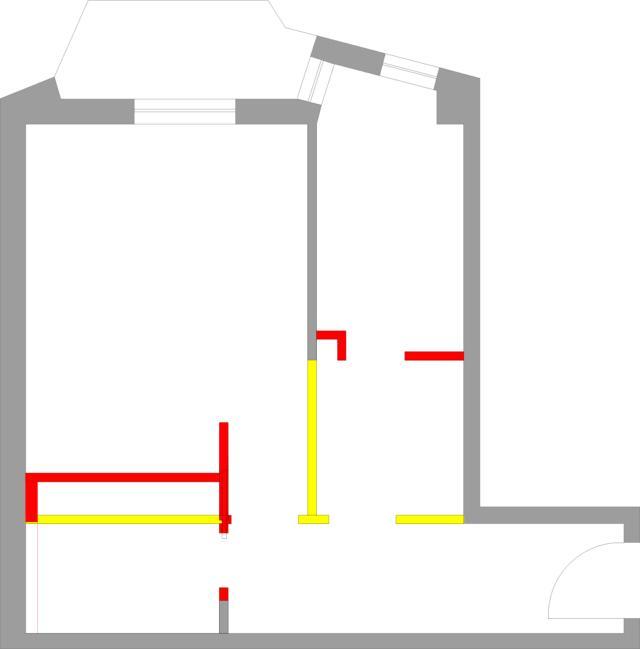 progetto bilocale demolizioni costruzioni