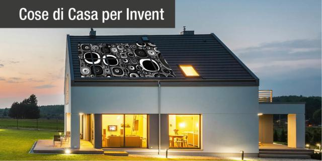 Il fotovoltaico Invent: di design, personalizzabile e made in Italy