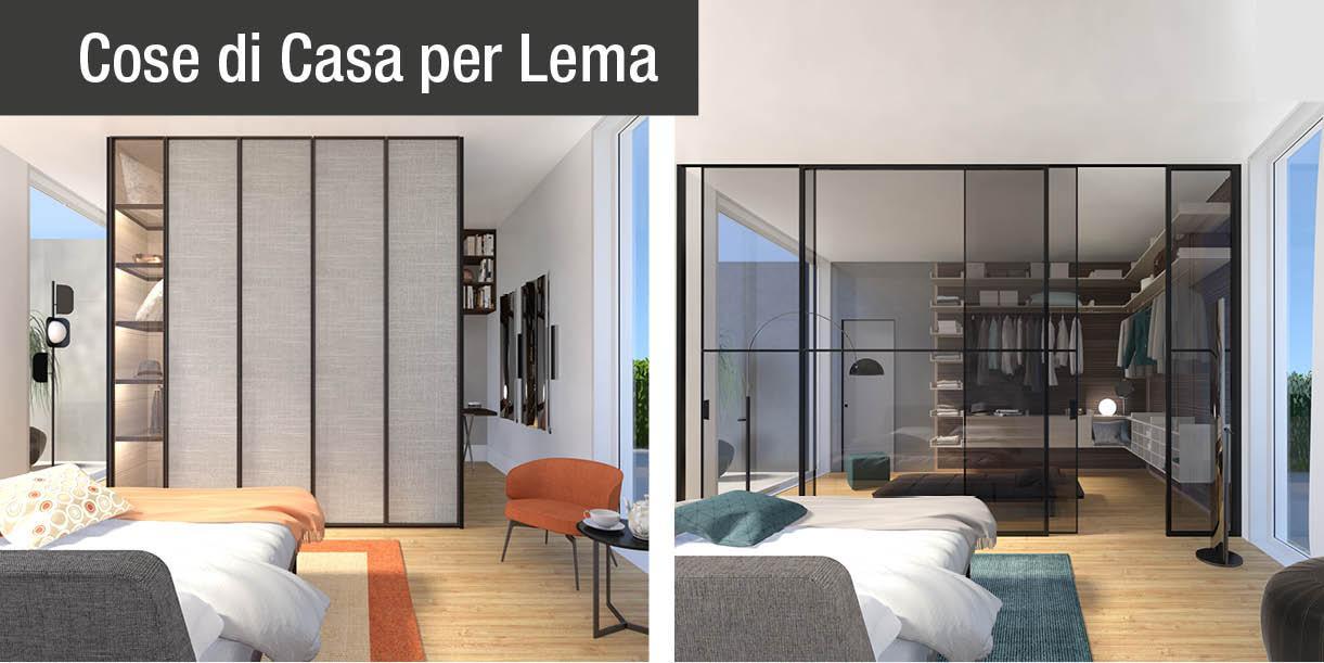 Armadio o cabina due progetti in 3d per la camera da for Progetti per la casa