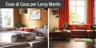 Relooking in stile etnico e vintage con Leroy Merlin