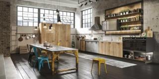 Loft di Snaidero cucine per contenere di più