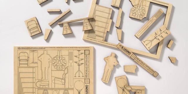 La straordinaria quotidianità degli oggetti in legno: omaggio ad Achille Castiglioni
