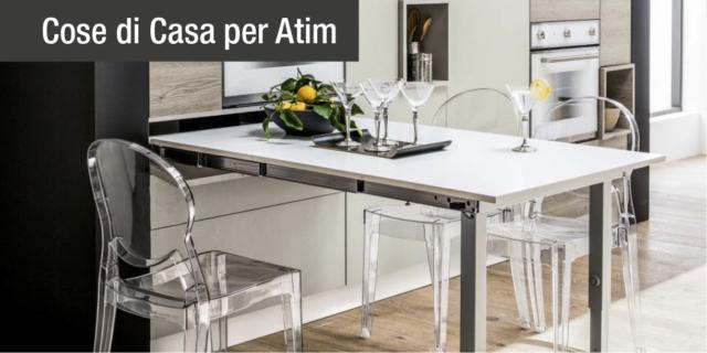 Lo spazio in casa si moltiplica grazie ai Trasformabili Atim!