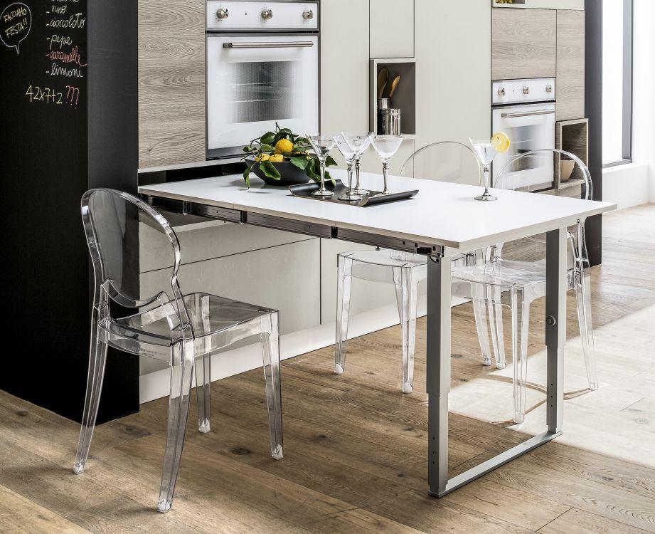 Lo spazio in casa si moltiplica grazie ai trasformabili - Tavolo estraibile ...