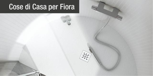 Piatto doccia Elax su misura, personalizzabile in tutte le dimensioni e forme