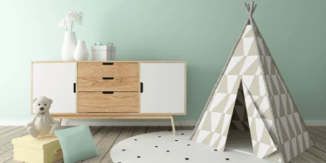 Dipingere le pareti della cameretta con colori atossici