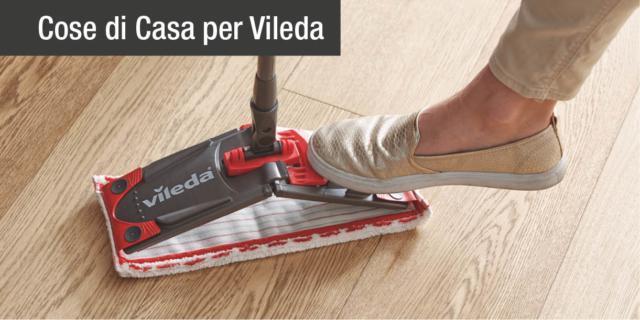 Vileda presenta Revolution: l'innovativo sistema di pulizia pratico ed efficace per dire addio al vecchio spazzolone!