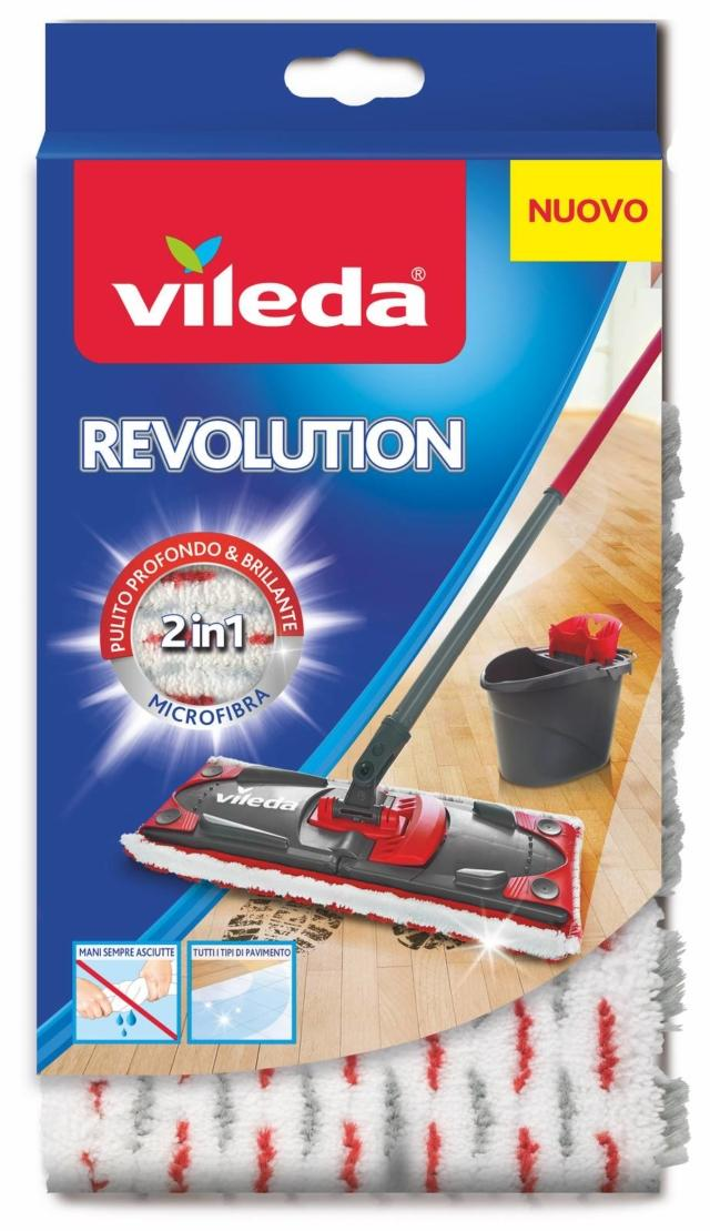 Vileda_Revolution_Ricambio 2in1 Microfibra