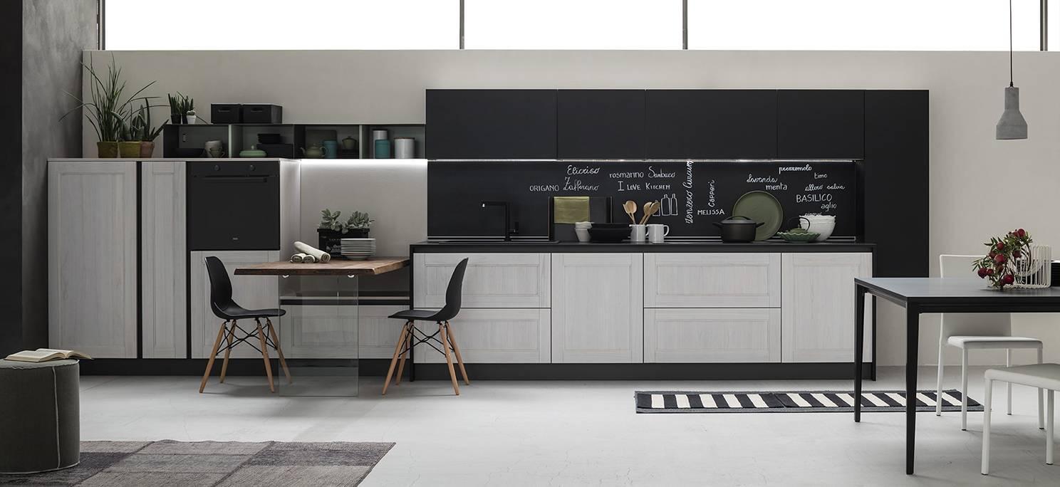 Cucina Bianca E Nera cucine nere: solo dettagli o total black? - cose di casa