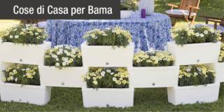 Con le fioriere Brick il verde verticale è più facile