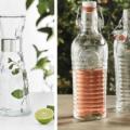 Tavola di natale 10 proposte in colori e stili diversi cose di casa - Bottiglie vetro ikea ...