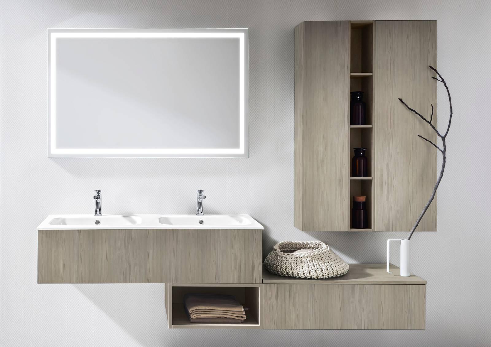 Cerasa infinite possibilità di personalizzare la stanza da bagno