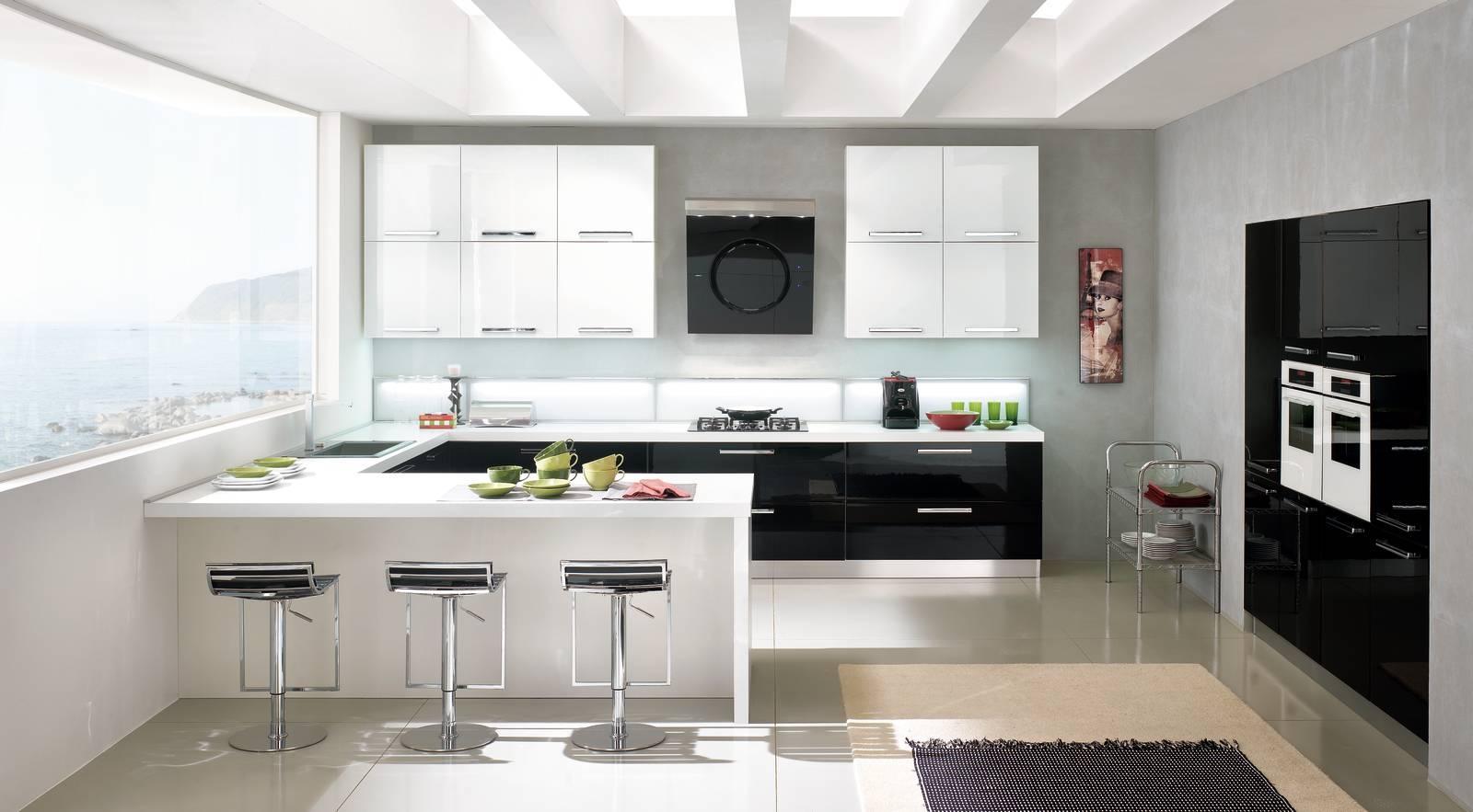 Cucine nere: solo dettagli o total black? cose di casa