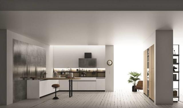 cucina Soho di Doimo Cucine per contenere di più