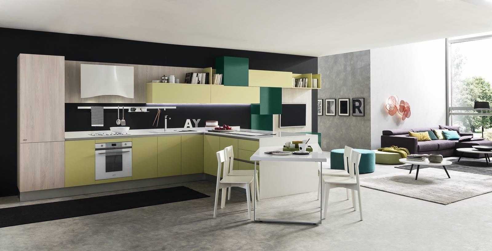 Per la cucina un piano di lavoro resistente e facile da pulire cose di casa - Cucine lube reggio emilia ...