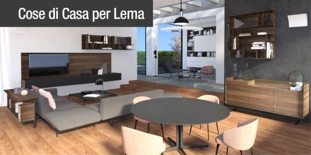 Arredare il soggiorno: progetto in 3D per l'open space